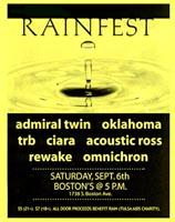 rainfest flyer